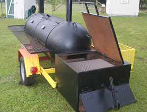 Smoker built to your specifications